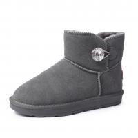 """Женские угги серые Kaifeng Winter boots  """"GH-77"""""""